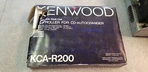 Kenwood KCA-R200 Controller for CD-Auto Changer OLD SCHOOL MISSING ITEMS