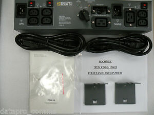 Socomec - PDU16 External Bypass Switch