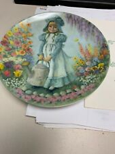 Knowles Collector Plate Mary Mary With Coa Mother Goose Collection