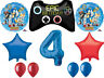 SONIC Hedgehog Balloon Bouquet 4th Birthday Party Supplies Decorations Favors