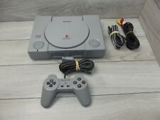 Sony Playstation 1 PS1 SCPH-5501 Console 1 Controller Tested and Works #2