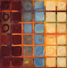 "36W""x36H"" CUBED by NOAH LI-LEGER 36 INDIVIDUAL CIRCULAR SQUARES CANVAS"