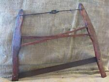 RARE Vintage Buck Bow Saw Small Size   Antique Old Hardwood Wood Lumber 9699