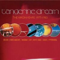 "TANGERINE DREAM ""THE VIRGIN YEARS: 1977-1983"" 5 CD NEU"
