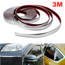 3Mx20mm Car Chrome DIY Moulding Trim Strip For Grille Window Door Bumper Mirror