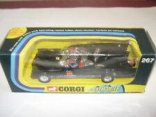 Corgi Batmobile 267 Gloss black 1973 / 74 rare clear screen mint condition rare