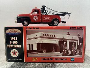 Tonka Collector Series Texaco 1953 Ford F-100 Tow Truck Free Shipping