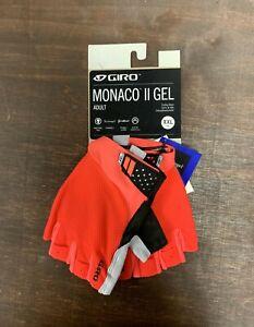 Giro Monaco II Gel Cycling Gloves Size 2XL New