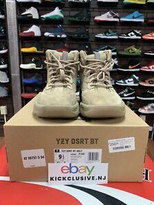 Adidas Yeezy Desert Boot Rock Sz 9.5