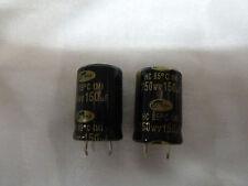 2 Condensatori Elettrolitici 150uf 250v 105 gradi Snap In SAMWHA