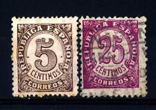 SPAIN - SPAGNA - 1938 - Cifra; francobolli del 1933