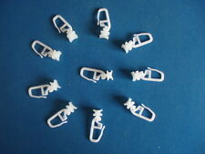 MOTORHOME CURTAIN HOOKS . HOOK No 10 . PACK OF 25 .TO FIT THE TRACK WE SELL ,