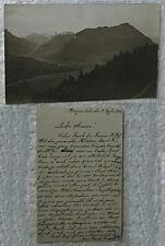 fotokarte bürgenstock von oben schweiz 1916