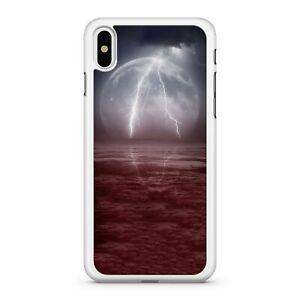 Delightful Elegant Magnificent Full Moon Ravishing Lightning Phone Case Cover