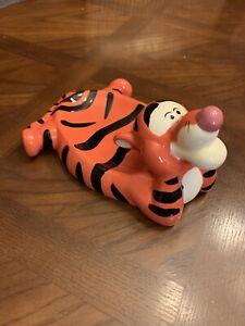 Disney Tigger Soap Dish Hand Painted Ceramic Bathroom Decor Winnie the Pooh