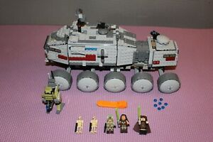 LEGO Star Wars 75151 Clone Turbo Tank missing 1 minifig, 1 dish & 2 extra bolts