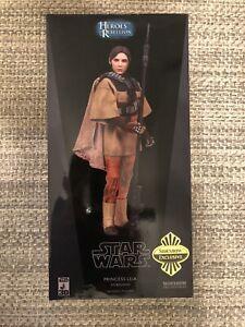 "Sideshow Star Wars Princess Leia as Boushh 1/6 12"" Exclusive NEW"