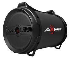 "Axess 1.0 Outdoor Active HIFI 6"" Bluetooth Speaker with Mic (Black) SPBT1040-BK"