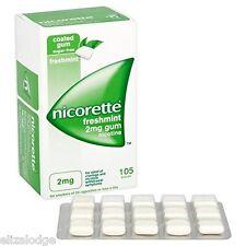 Nicorette Gomma alla nicotina Freshmint sapore 2mg (105 pezzi)