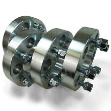 "Four 5x5 127 Wheel Spacers 1"" Thick 1/2 Lug Buick LeSabre Cadillac Chevy C10 -1"
