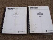 John Deere 710G Backhoe Loader Operation Test Shop Service Repair Manual TM2060