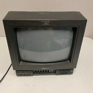 """Panasonic CT-1331Y 13"""" CRT Color Video Monitor BNC Composite S-Video WORKS! PVM"""