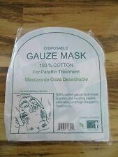 Salon Spa Facial Disposable Pre-Cut Gauze Cloth 100% cotton 50 per bag
