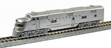 """Kato N Scale 1765401D N EMD E5A CB&Q #9910A """"Silver Speed"""" w/ Ready-to-Run DCC"""