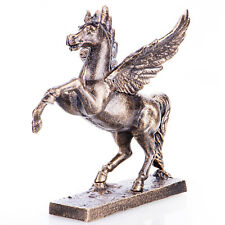 Horse With Wings Pegasus Mythology Sculpture Figure Made From Cast Iron - 20341