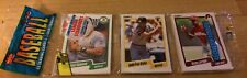 1990 Pack Jose Canseco Athletics Andy Van Slyke Pirates Ricky Jordan Phillies