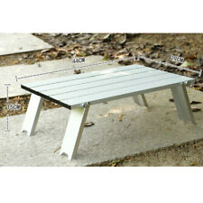 Tavolo da picnic da campeggio pieghevole in alluminio ultraleggero