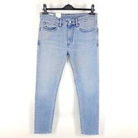 Kings Of Indigo Jeans John Long Rise Slim Herren W32 L32 Blau Stonewash KOI