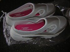 NIB New size 11 Cushion Walk Memory Foam Easy Fitting Mule Shoes by Avon