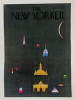 COVER ONLY ~ The New Yorker Magazine, October 1, 1979 ~  R. O. Blechman