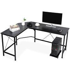 L Shaped Desk Corner Computer Desk Pc Laptop Study Table Workstation Home Office