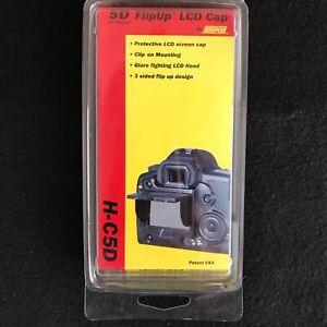 Hoodman 5D FlipUp LCD Cap H-C5D FACTORY SEALED