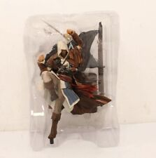 Assassins Creed 2/3/4 Ezio, Connor, And Edward Statues Complete With Accessories