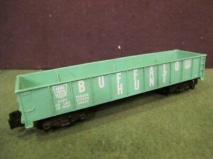 AMERICAN FLYER Game Train BUFFALO HUNT  Green GONDOLA Freight CAR