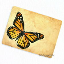 Yellow Butterfly Deco Magnet, Decorative Fridge Refrigerator Garden Insect Bug
