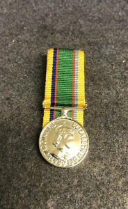 Cadet Forces Medal Court mounted With pin brooch bar Ready To Wear New Miniature