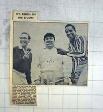 1960 Harry Secombe Cricket Match Broadwater Fleetwood Teddy Johnson Emile Ford