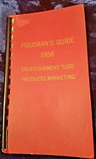 Vintage RCA TV 1958 Fieldmen's Guide ENTERTAINMENT TUBE PRODUCTS Marketing