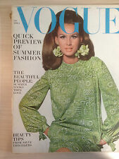 VOGUE US April 01,1965 Quick preview of Summer Fashion Collection Fashion Mode