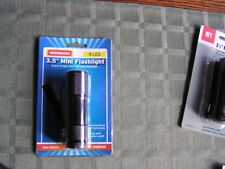 "GORDON 3.5"" Mini Flashlight Super-Bright 9 LED Bulbs Batteries Included - NEW"