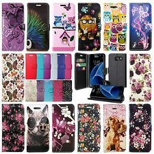 FOR SAMSUNG GALAXY J5 2016 LEATHER WALLET BOOK STYLE OPENING PROTECT CASE COVER