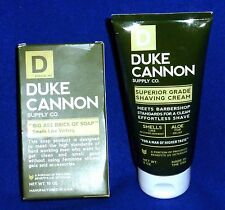 DUKE CANNON SUPPLY CO RUPERIOR SHAVING CREAM+BIG ASS BRICK OF SOAP