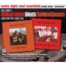 V/A: WILLIE & WEST MEET THE NEW SOUNDS (CD.)