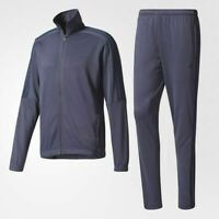 NEW* ADIDAS MEN'S BQ3857 TIRO TRACK SUIT TRACE BLUE JACKET PANT SET WITH TAGS