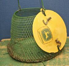 Vintage John Deere Minnow Bucket Cage