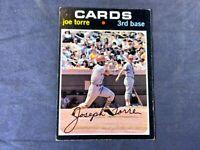 M5-3 BASEBALL CARD - JOE TORRE ST. LOUIS CARDINALS - 1971 TOPPS - CARD #370